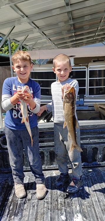 Fishing at Priest Lake